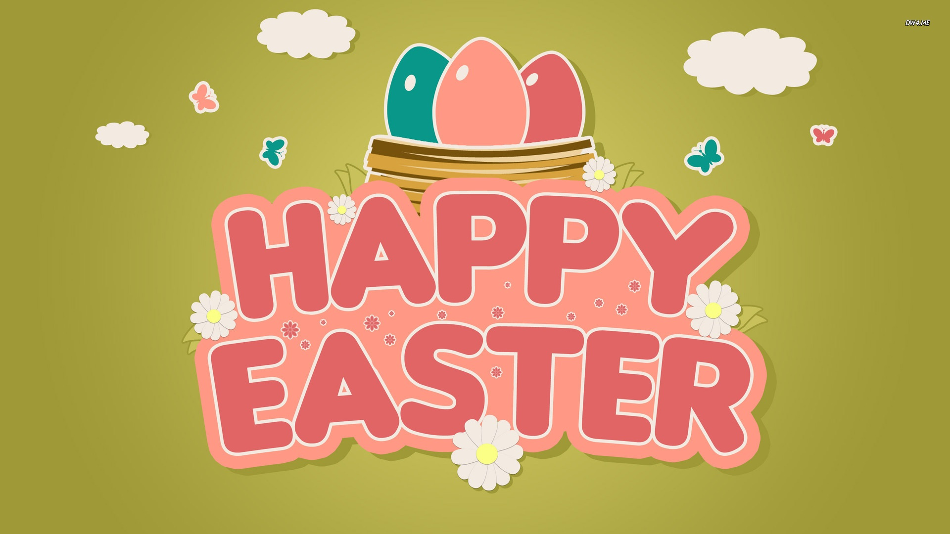 Happy easter wishes image free download