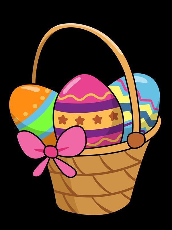 Easter Basket Clipart